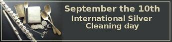September the 10-th. International Silver Cleaning Day